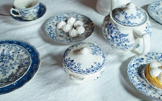 Loza inglesa for Vajilla de porcelana inglesa