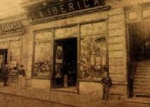fachada antigua de Bazar La Ibérica Montevideo