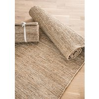 CAMINERO DE YUTE NATURAL - 2.50 x 0.70 mts