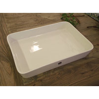 ASADERA RECTANGULAR ROYAL DOULTON WHITE