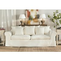 SILLON 7 ALMOHADONES - FUNDA LAVABLE JEAN BLANCO