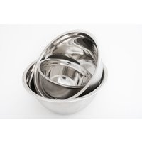 BOWL DE ACERO INOXIDABLE - 19 cms