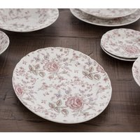 FUENTE OVAL JOHNSON BROS - ROSE CHINTZ