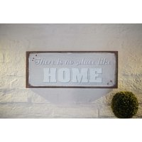 CUADRITO CANVAS - THERE´S NO PLACE LIKE HOME