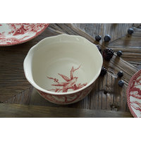 BOWL CEREALES RED DOVE