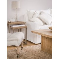 SILLON SOFIA - FUNDA LAVABLE JEAN BLANCO