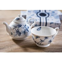TEA FOR ONE PORTMEIRION - BOTANIC BLUE