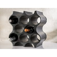 RACK DE 3 BOTELLAS APILABLE GRIS - KOZIOL