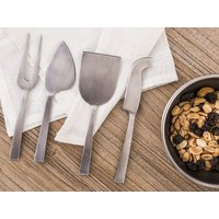 SET 4  CUCHILLOS DE QUESO - ANTIQUE SILVER